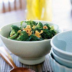 Broccoli Salad with Sesame Dressing and Cashews recipe