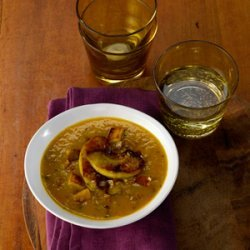 Spiced Apple and Butternut Squash Soup recipe