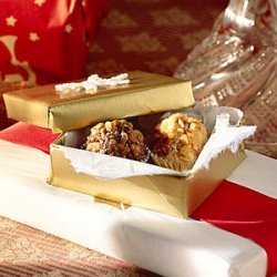 Chocolate-Praline Truffles recipe