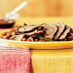 Braised Roast With Root Vegetables recipe