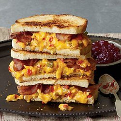 Some Like It Hot  Grilled Pimiento Cheese Sandwiches recipe