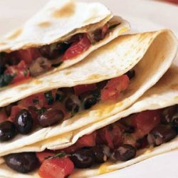 Black Bean Quesadillas with Corn Salsa recipe