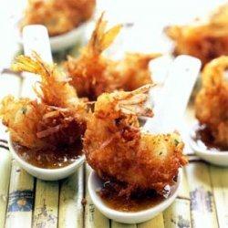 Coconut Shrimp with Maui Mustard Sauce recipe