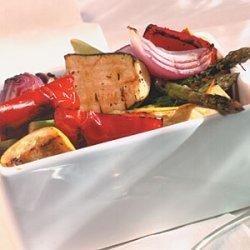 Marinated Grilled Vegetable Salad recipe