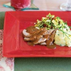 Holiday Roast With Gravy recipe