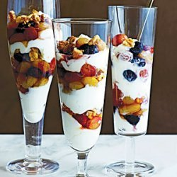 Slow-Roasted Grape and Yogurt Parfaits recipe