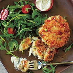 Crab Cakes and Spicy Mustard Sauce recipe