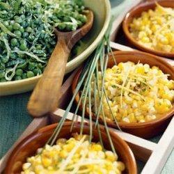 Sweet Corn and Onion Salad recipe