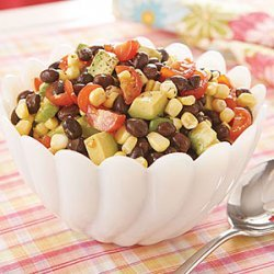 Black Bean, Corn and Cherry Tomato Salad recipe