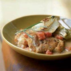 Chicken with Fennel, Tomato, and Tarragon Vinegar recipe