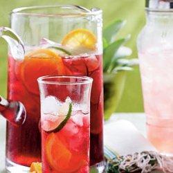 Iced Hibiscus Sweet Tea recipe