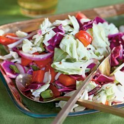 Chopped Coleslaw Salad recipe