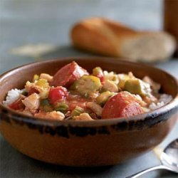 Sausage and Chicken Gumbo recipe