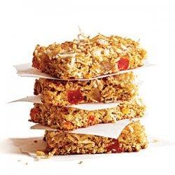 Chewy Coconut Granola Bars recipe