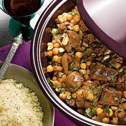 Lamb and Chickpea Tagine recipe