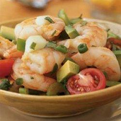 Yucatan Shrimp Cocktail Salad recipe