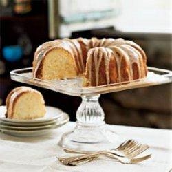 Lemon Pound Cake with Chambord Glaze recipe