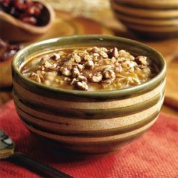 Dried Cherry-and-Pecan Oatmeal recipe