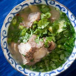 Oxtail Vegetable Soup recipe