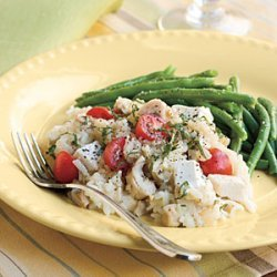 Oven Chicken Risotto recipe
