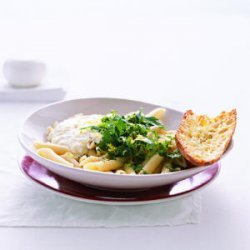 Pasta with Ricotta, Herbs, and Lemon recipe