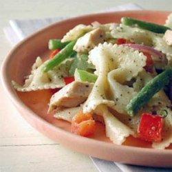 Peppery Chicken Pasta Salad recipe