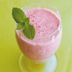Watermelon Smoothie with a Hint of Mint recipe