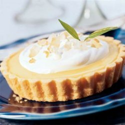 Lime Tarts with Coconut Cream recipe