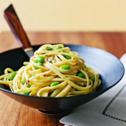 Linguine with Garlic and Soy recipe