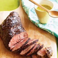 Grilled Tri-tip with Cuban Mojo Sauce recipe