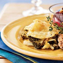 Broccoli Potato Gratin recipe