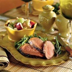 Grilled Balsamic Pork Tenderloin recipe