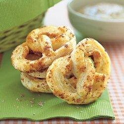 Puff Pastry  Pretzels  recipe