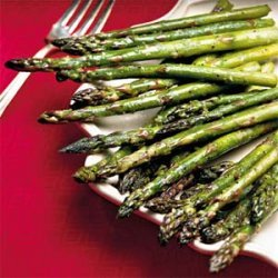 Asparagus With Ginger recipe