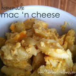 Homemade Mac 'n Cheese recipe