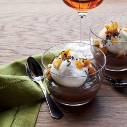 Milk Chocolate and Earl Grey Budino recipe
