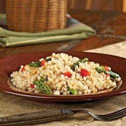 Israeli Couscous with Asparagus recipe