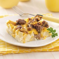 Breakfast Casserole (white bread and egg whites) recipe