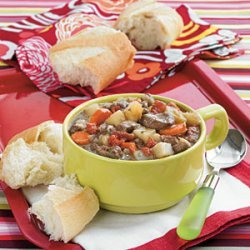 Burgandy Beef Stew recipe