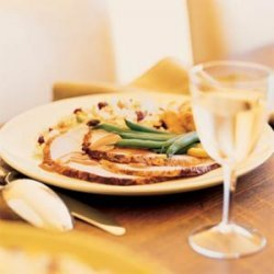 Brined Turkey Breast with Cranberry Jus recipe