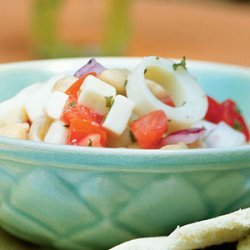 Chickpea and Hearts of Palm Salad recipe