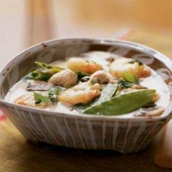 Thai Shrimp and Chicken Soup recipe