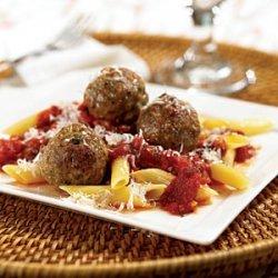 Turkey Meatballs with Penne recipe