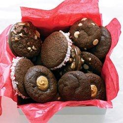 Hazelnut Nutella Sandwich Cookies recipe