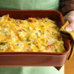 Rotel Chicken Mexican Casserole recipe