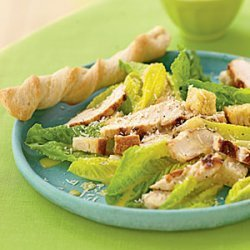 Hearts of Romaine Caesar Salad with Grilled Chicken recipe
