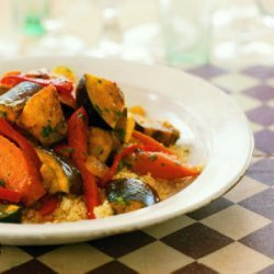 Spicy Vegetable Tagine with Couscous recipe