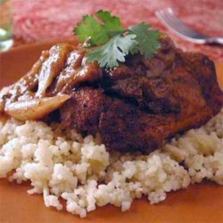 Moroccan Chicken with Almond Couscous recipe