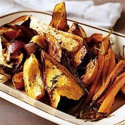 Big Platter of Roasted Vegetables recipe