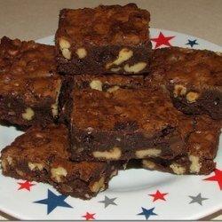 No Bake Fudge Brownies recipe